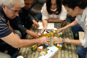 4 ישובים סביב שולחן - סדנת עולם השיווק